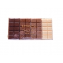 Savon tablette chocolat 4 parfums
