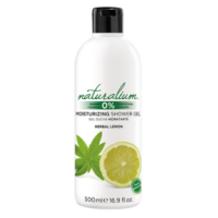 Gel douche Naturalium 0% Herbes & Citron